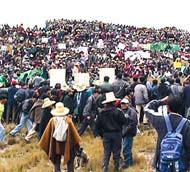 Protestas en el cerro Quilisih, Cajamarca